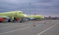 Sukhoi Superjet-100 - 038 и 039