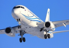Sukhoi Superjet-100 - SSJ 100-95LR в Остафьево