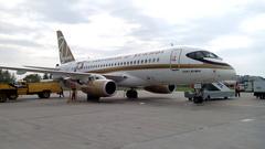 Sukhoi Superjet-100 - Сухой в Магнитке