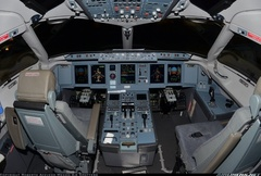 Sukhoi Superjet-100 - XA-JLG Flight Deck