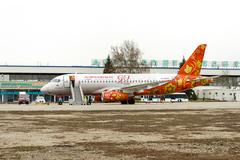 Sukhoi Superjet-100 - RA-89009 в Днепропетровске 19.03.2014