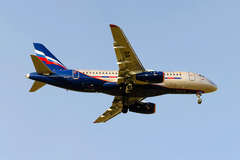 Sukhoi Superjet-100 - RA-89010 в Днепропетровске 09.03.2014
