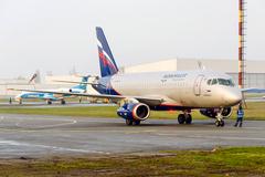 Sukhoi Superjet-100 - RA-89024 Первый коммерческий рейс. Днепропетровск 04.04.2014